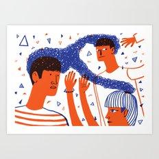 Intertwined 1 Art Print