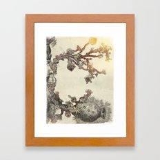 my organic alphabet - Letter C Framed Art Print