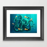 Octopus Framed Art Print