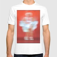 ICON Mens Fitted Tee White SMALL