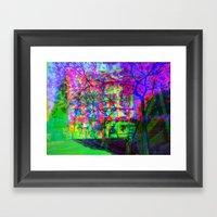 Multiplicitous Extrapola… Framed Art Print