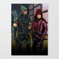 Arrowverse Canvas Print