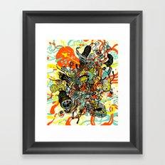 Triefloris Framed Art Print