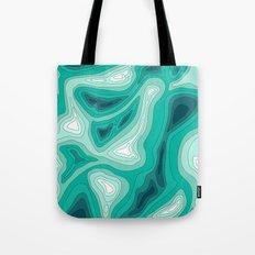 ocean dephts map Tote Bag