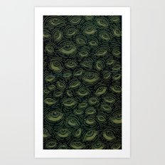 Eye Sea Art Print