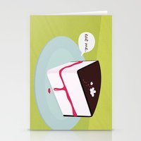 Eat me. Stationery Cards