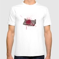Misery - Minimal Movie P… Mens Fitted Tee White SMALL