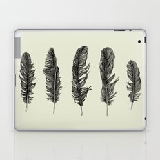 Lucky Five Feathers Laptop & iPad Skin