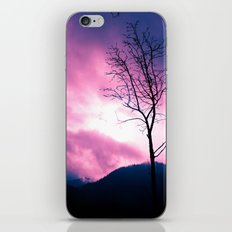 Into the Pink & Purple Sky  - JUSTART © iPhone & iPod Skin