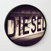 DIESEL Wall Clock