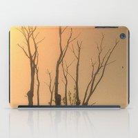 Spiritual trees iPad Case