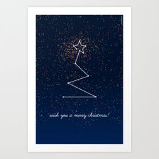 wish tree Art Print