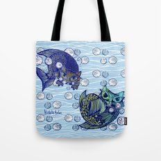 Cats print Tote Bag