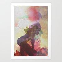 Bergquistian 6 Art Print