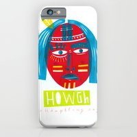 iPhone & iPod Case featuring H O W G H  by Anne Wenkel // Illustration & Fine Art