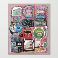 Hypnotictac Canvas Print