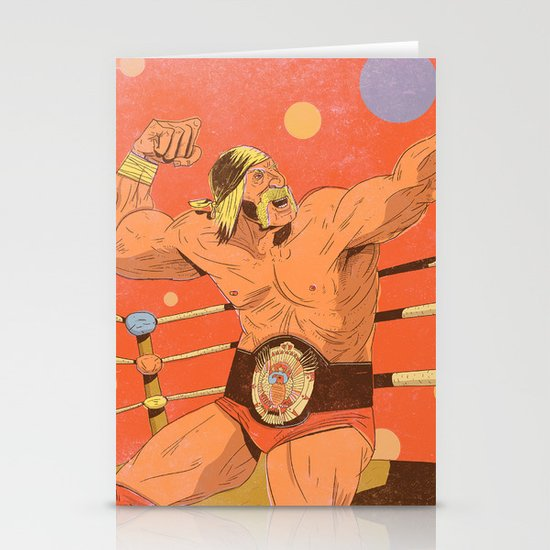 The Hulkster! Stationery Card
