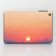 Geometric Sunset iPad Case