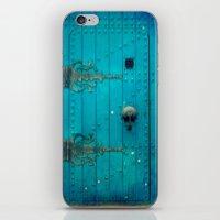 Blue Door iPhone & iPod Skin