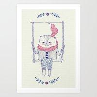 ☀ Always Look On The B… Art Print