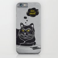 Chilling Cat iPhone 6 Slim Case