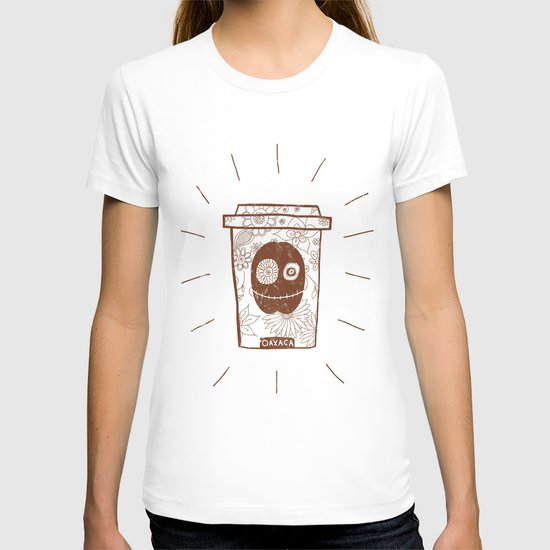 Dia de los muertos to take-out T-shirt