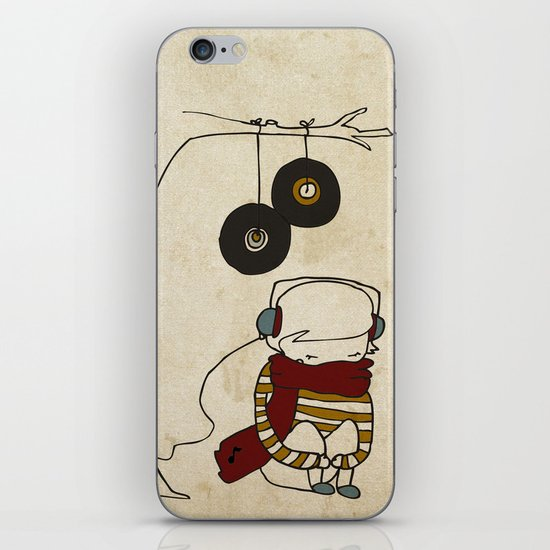 Music Tree iPhone & iPod Skin
