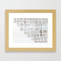 urbania metropol I Framed Art Print