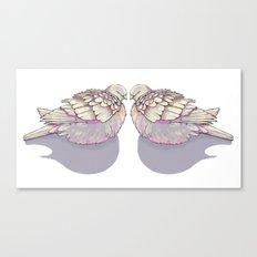 Dove you Canvas Print