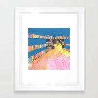 experimenting Framed Art Print