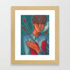 Seymour, the Human Target Framed Art Print