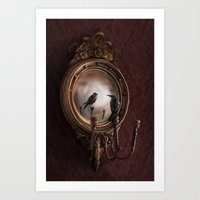 Brooke Figer - Reflectio… Art Print