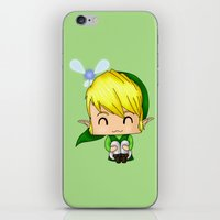 Chibi Link iPhone & iPod Skin