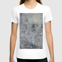 Moon-like  Womens Fitted Tee White SMALL
