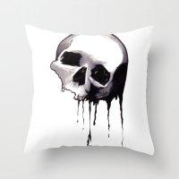 Bones VIII Throw Pillow
