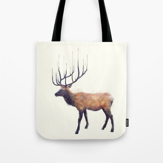 Elk // Reflect (Left) Tote Bag