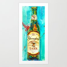 YUENGLING  BEER PA BEST Art Print