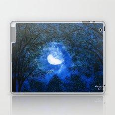 Trees in the moonlight Laptop & iPad Skin