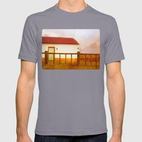 Land of soul Mens Fitted Tee Slate SMALL
