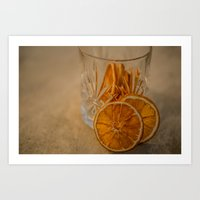 Afternoon drink Art Print