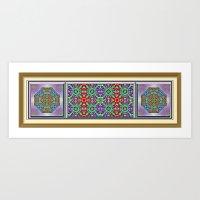 Garden of Jewels Art Print