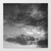 'Clouds 3' Canvas Print