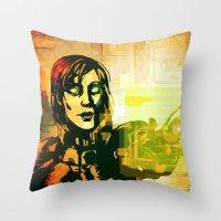 Mass Effect - Overlord Throw Pillow