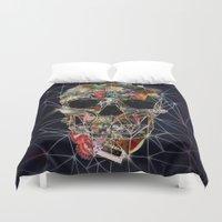 Fragile Skull Duvet Cover