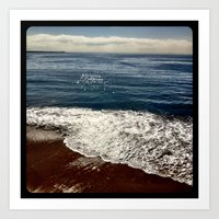 Seaside.  Art Print
