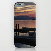 iPhone & iPod Case featuring Champlain Dusk by Samantha MacDonald