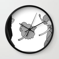 Adventure Time: Marceline, Princess Bubblegum, & LSP: Single Ladies of Ooo Wall Clock