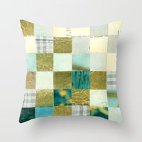 Check Your Head Throw Pillow
