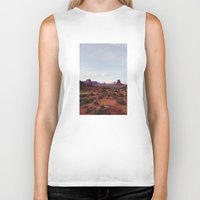Monument Valley View Biker Tank