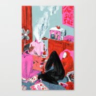 Bums (Lost Time) Canvas Print